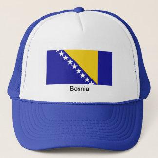 ボスニア・ヘルツェゴビナの旗 キャップ