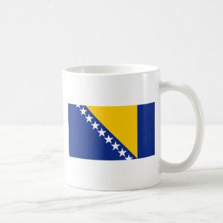 ボスニア・ヘルツェゴビナの旗 コーヒーマグカップ