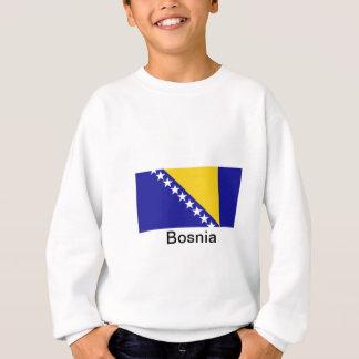 ボスニア・ヘルツェゴビナの旗 スウェットシャツ