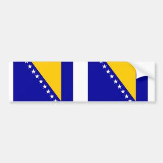 ボスニア・ヘルツェゴビナの旗 バンパーステッカー