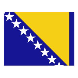 ボスニア・ヘルツェゴビナの旗 ポストカード