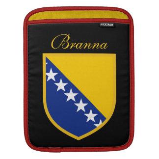 ボスニア・ヘルツェゴビナの旗 iPadスリーブ