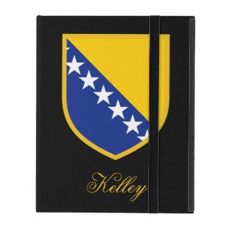 ボスニア・ヘルツェゴビナの旗 iPad ケース