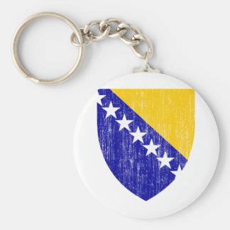 ボスニア・ヘルツェゴビナの紋章付き外衣 キーホルダー