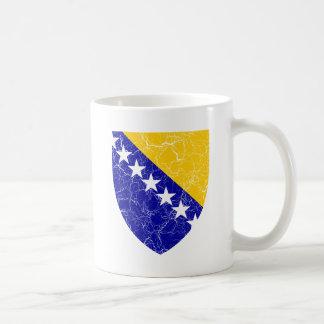 ボスニア・ヘルツェゴビナの紋章付き外衣 コーヒーマグカップ