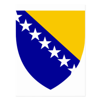 ボスニア・ヘルツェゴビナの紋章付き外衣 ポストカード