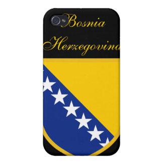 ボスニア・ヘルツェゴビナの美しい旗 iPhone 4/4S カバー