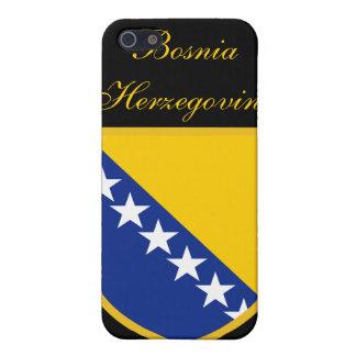 ボスニア・ヘルツェゴビナの美しい旗 iPhone 5 ケース