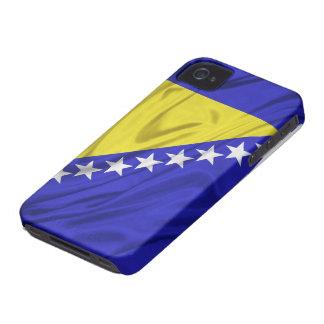 ボスニア・ヘルツェゴビナのiPhone 4/4Sのケースの旗 Case-Mate iPhone 4 ケース