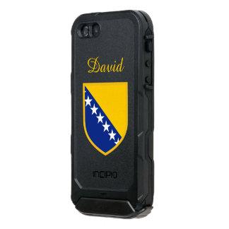 ボスニア・ヘルツェゴビナは印を付けます ウォータープルーフiPhone SE/5/5sケース