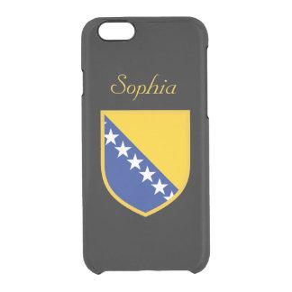 ボスニア・ヘルツェゴビナは印を付けます クリアiPhone 6/6Sケース