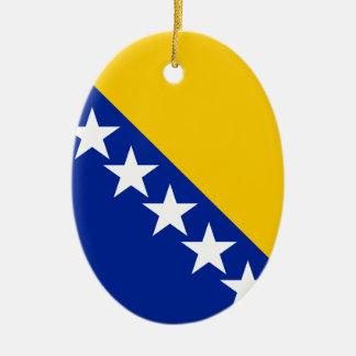 ボスニア・ヘルツェゴビナは印を付けます セラミックオーナメント