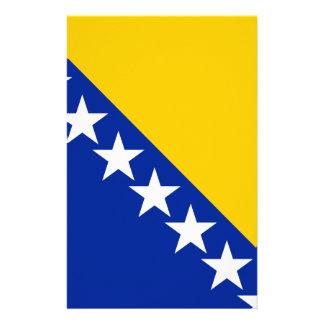 ボスニア・ヘルツェゴビナは印を付けます 便箋