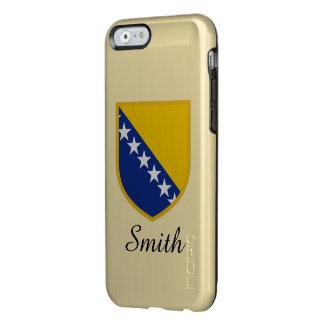 ボスニア・ヘルツェゴビナは印を付けます INCIPIO FEATHER SHINE iPhone 6ケース