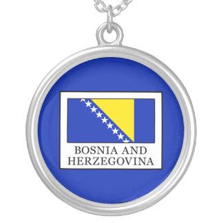 ボスニア・ヘルツェゴビナ シルバープレートネックレス
