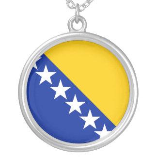ボスニア・ヘルツェゴビナ、ボスニア・ヘルツェゴビナ シルバープレートネックレス