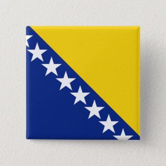 ボスニア・ヘルツェゴビナ 5.1CM 正方形バッジ