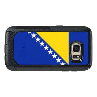 ボスニア・ヘルツェゴビナSamsungの例の旗 オッターボックスSamsung Galaxy S7ケース