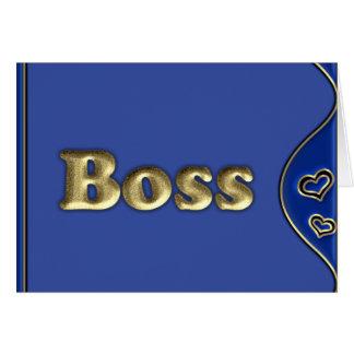ボス カード