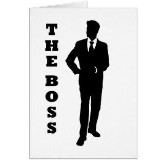 """""""ボス"""" カード"""