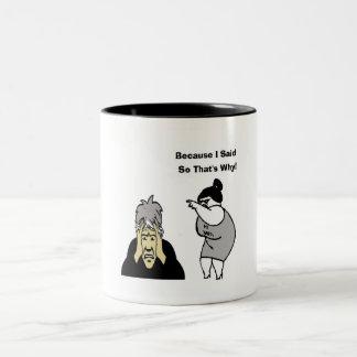 ボス ツートーンマグカップ