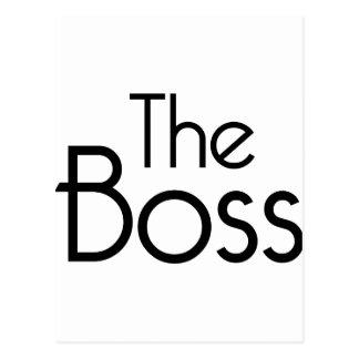ボス ポストカード