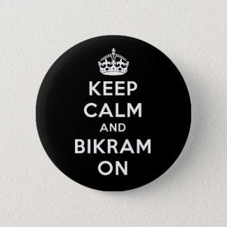 ボタンの平静及びBikramを保って下さい 缶バッジ