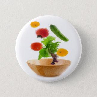 ボタンの栄養士 5.7CM 丸型バッジ