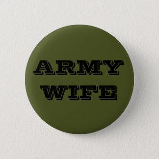 ボタンの軍隊の妻 5.7CM 丸型バッジ