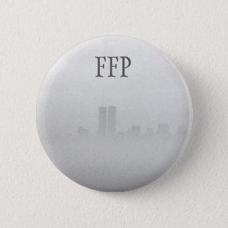 ボタンの(ピンで) -自由の霧の写真 缶バッジ