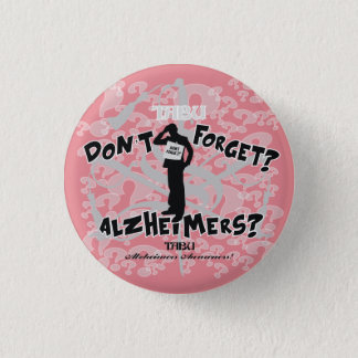 ボタンのAlzheimerのタブーの認識度1 1/4 3.2cm 丸型バッジ