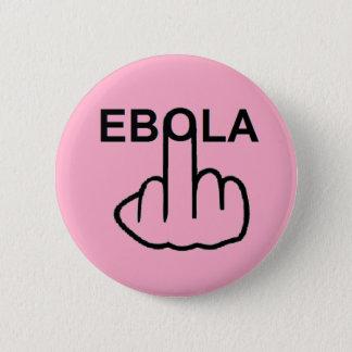 ボタンのEbolaフリップ 5.7cm 丸型バッジ