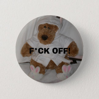 ボタンを離れたベビーのBridgetのF*CK 5.7cm 丸型バッジ