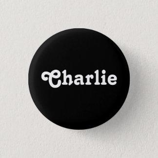 ボタンチャーリー 3.2CM 丸型バッジ