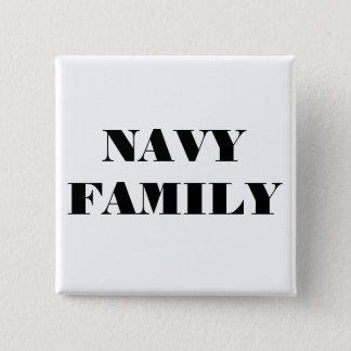 ボタン海軍家族 5.1CM 正方形バッジ