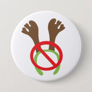 ボタン/バッジ-おもしろいなクリスマスのテーマ 7.6CM 丸型バッジ
