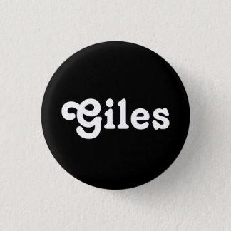 ボタンGiles 3.2cm 丸型バッジ