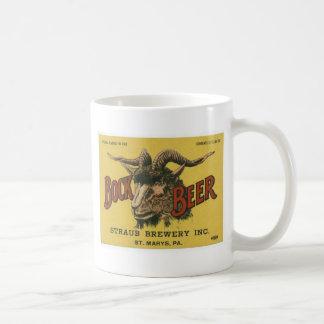 ボックビールビールラベル コーヒーマグカップ