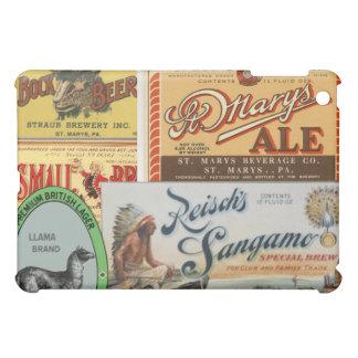 ボックビールビールラベル iPad MINIケース