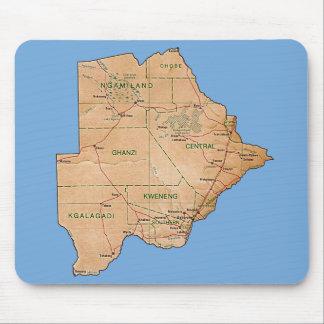 ボツワナの地図のマウスパッド マウスパッド