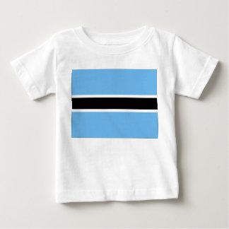 ボツワナの旗 ベビーTシャツ