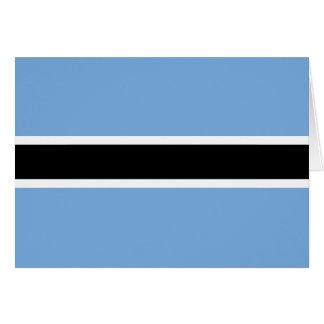 ボツワナの旗Notecard カード