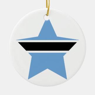 ボツワナの星 セラミックオーナメント