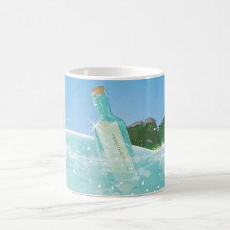 ボトルのメッセージ モーフィングマグカップ