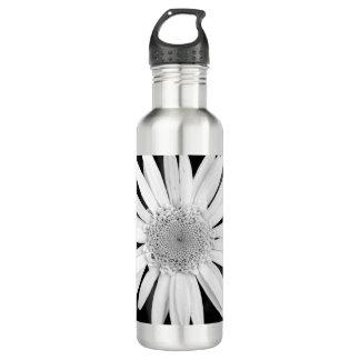 ボトルコレクション-クラシックなbalckおよび白いデイジー ウォーターボトル