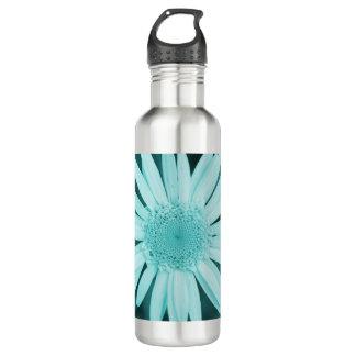 ボトルコレクション-ティール(緑がかった色)のデイジー ウォーターボトル