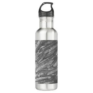 ボトルコレクション-抽象的な灰色 ウォーターボトル