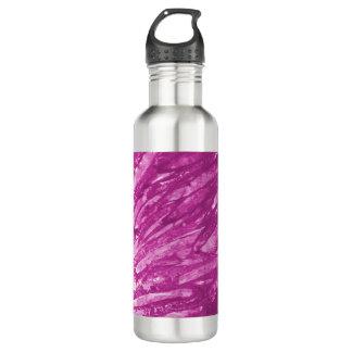 ボトルコレクション-抽象的な紫色のピンク ウォーターボトル