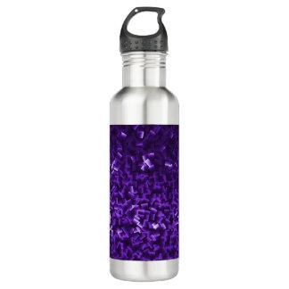 ボトルコレクション-明るい紫色 ウォーターボトル