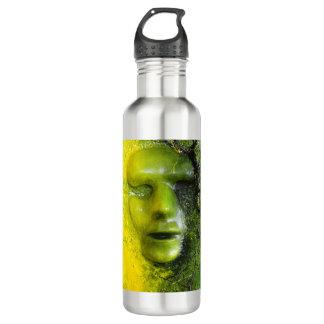 ボトルコレクション-緑のマスク ウォーターボトル